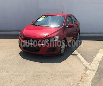 foto Chevrolet Sonic LT Aut usado (2016) color Rojo precio $145,000