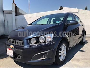 Chevrolet Sonic 4P LT TM5 A/AC. VE BA RA-15 usado (2016) color Azul precio $165,000