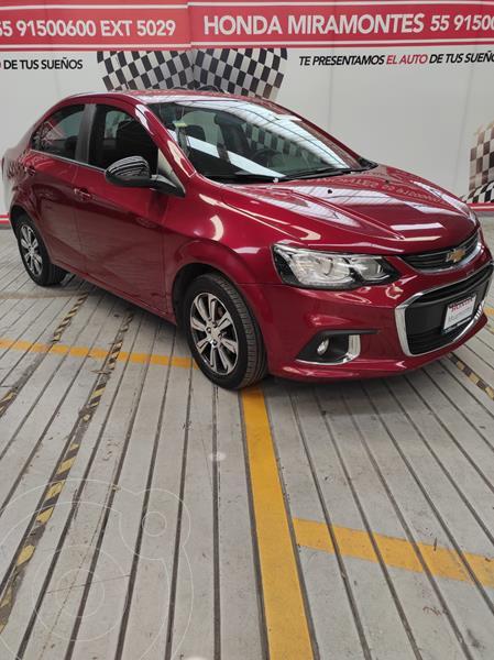 Foto Chevrolet Sonic Premier Aut usado (2017) color Rojo Tinto financiado en mensualidades(enganche $48,750 mensualidades desde $3,978)