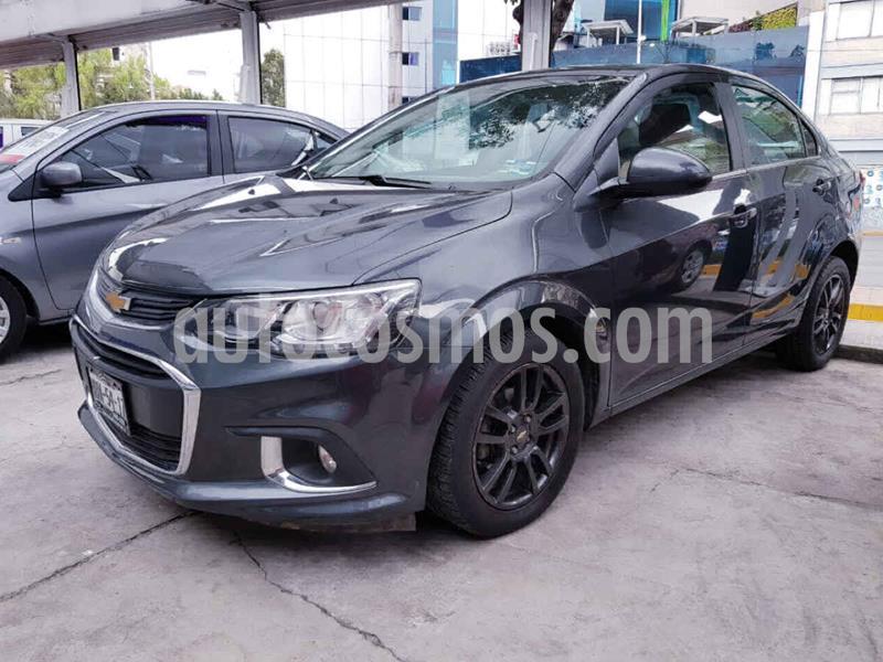 Chevrolet Sonic Premier Aut usado (2017) color Gris precio $179,000