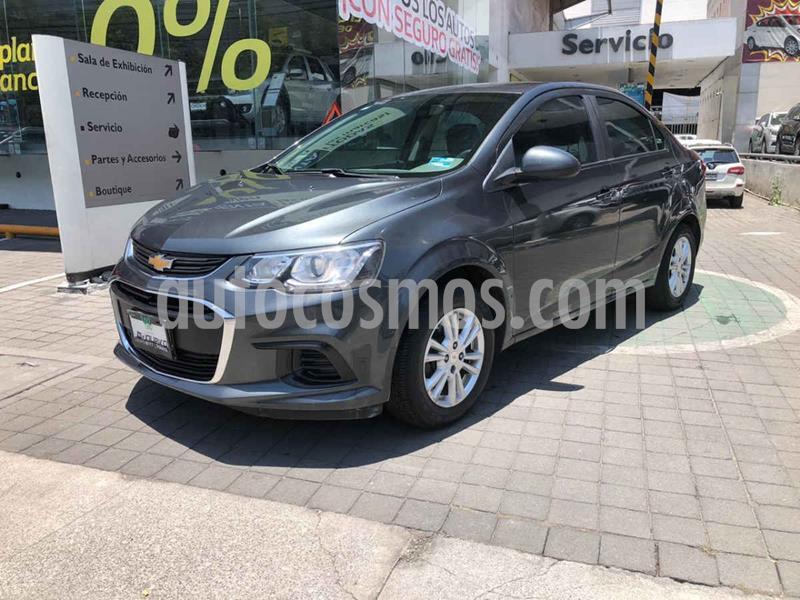 Chevrolet Sonic LT usado (2017) color Gris precio $179,000
