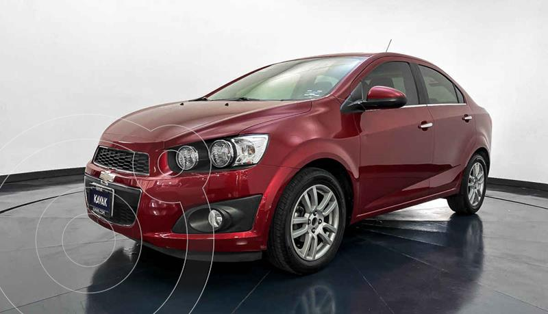 Chevrolet Sonic LTZ Aut usado (2016) color Rojo precio $169,999