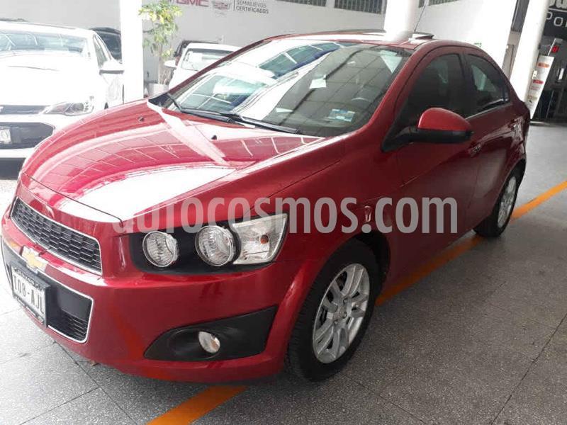 Chevrolet Sonic LTZ Aut usado (2016) color Rojo precio $169,000