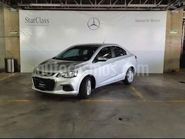 Chevrolet Sonic 4p LT L4/1.6 Man usado (2017) color Plata precio $179,000