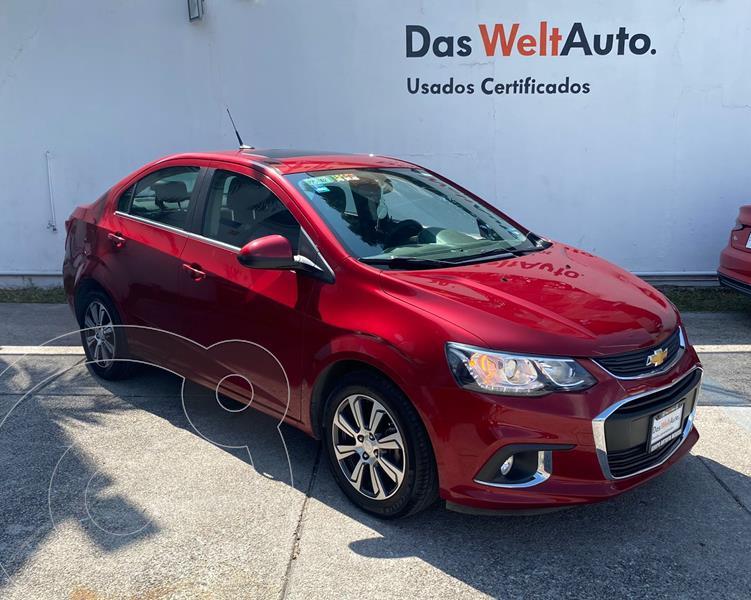 Foto Chevrolet Sonic LTZ Aut usado (2017) color Rojo Tinto precio $204,900