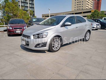Chevrolet Sonic 4p LTZ L4/1.6 Aut usado (2016) color Plata precio $141,000