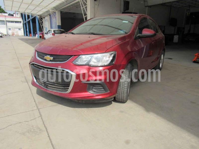 Chevrolet Sonic LT usado (2017) color Rojo precio $76,000