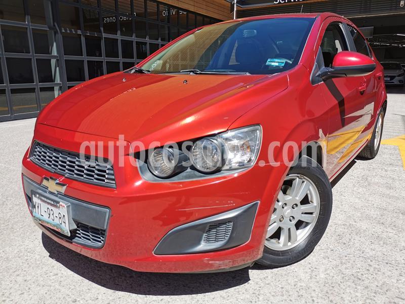 Chevrolet Sonic LT usado (2016) color Rojo Tinto precio $145,000
