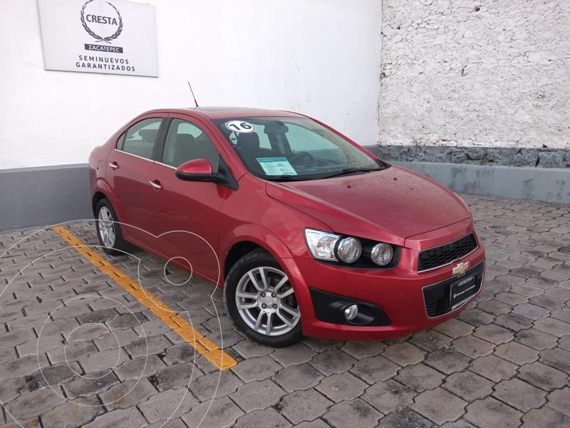Foto Chevrolet Sonic LTZ Aut usado (2016) color Rojo precio $184,900