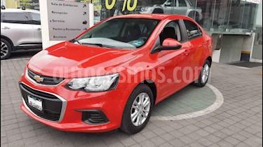 Chevrolet Sonic 4p LS L4/1.6 Man usado (2017) color Rojo precio $179,000