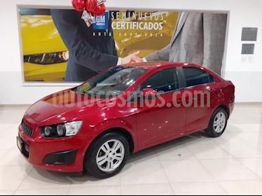 Foto Chevrolet Sonic 4p LT L4/1.6 Man usado (2016) color Rojo precio $165,900
