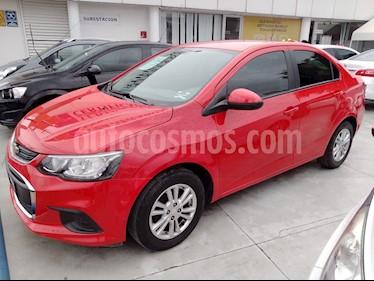 Chevrolet Sonic LTZ Aut usado (2017) color Rojo precio $197,000
