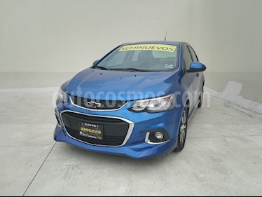 Foto Chevrolet Sonic Premier Aut usado (2017) color Azul Naval precio $230,000