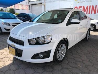 Chevrolet Sonic 4P LTZ L4/1.6 AUT usado (2016) color Blanco precio $170,000