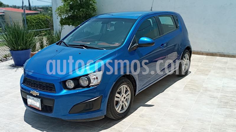Chevrolet Sonic LT HB Aut usado (2016) color Azul precio $142,200