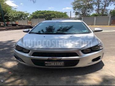 Chevrolet Sonic 4P LT TM5 A/AC. VE BA RA-15 usado (2016) color Plata precio $155,000