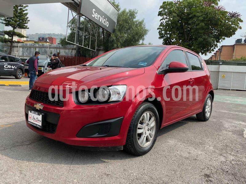 Chevrolet Sonic LT Aut usado (2016) color Rojo precio $137,000