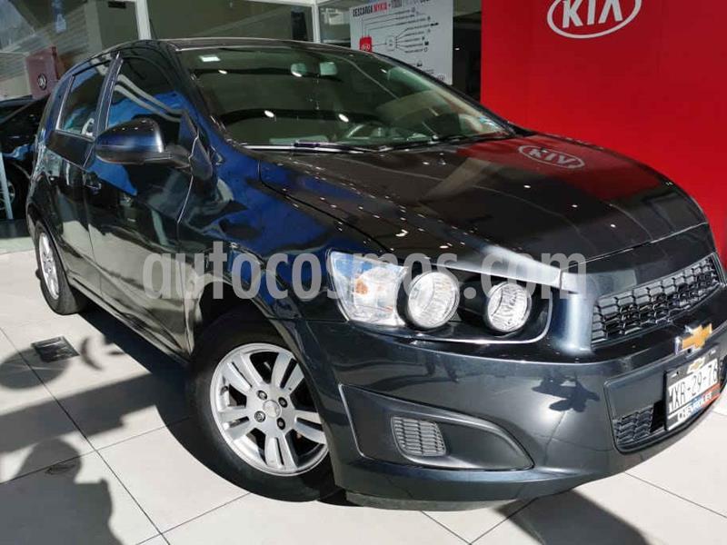 Chevrolet Sonic LT usado (2016) color Gris precio $140,000