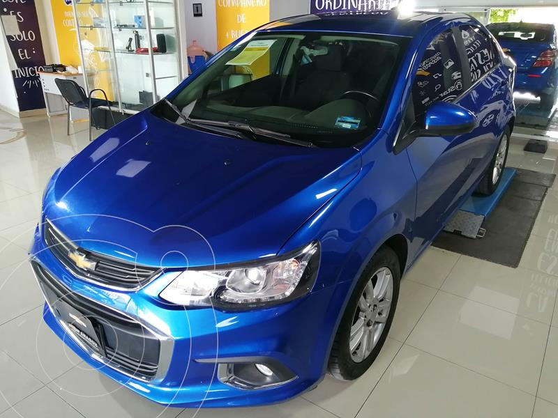 Chevrolet Sonic Premier Aut usado (2017) color Azul precio $225,000