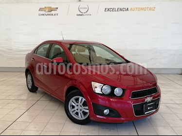 Chevrolet Sonic LTZ Aut usado (2016) color Rojo precio $275,000