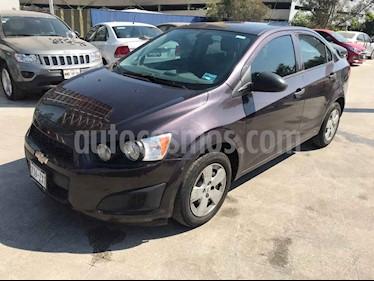 Chevrolet Sonic 4p LS L4/1.6 Man usado (2015) color Violeta precio $129,000