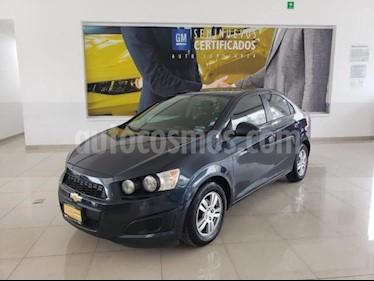Chevrolet Sonic 4P LTZ TA A/AC. VE QC ABS BA F. NIEBLA RA-16 usado (2015) color Azul Marino precio $124,873