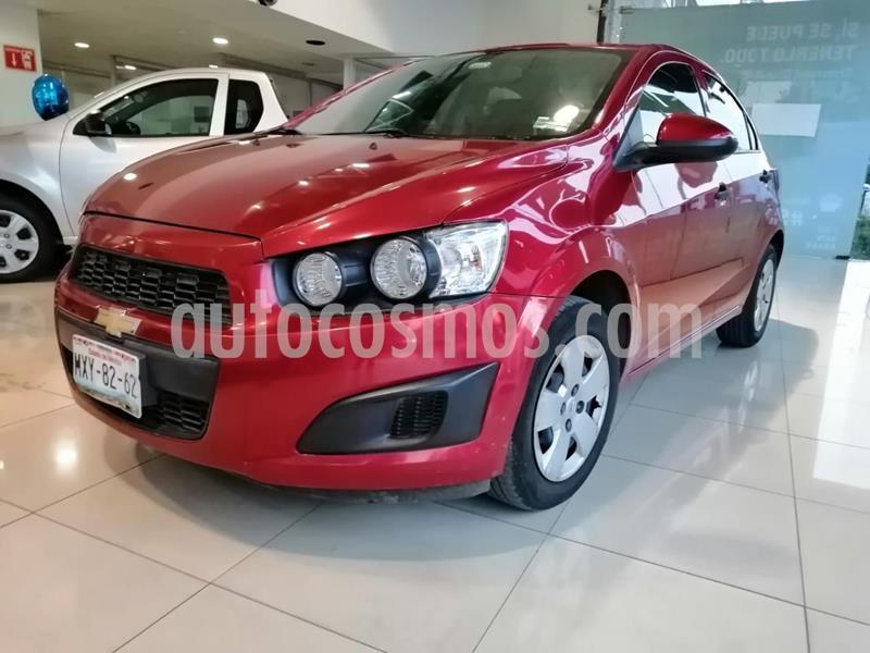 Chevrolet Sonic LS usado (2016) color Rojo precio $139,900