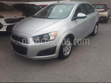 Chevrolet Sonic LT usado (2014) color Plata precio $115,000