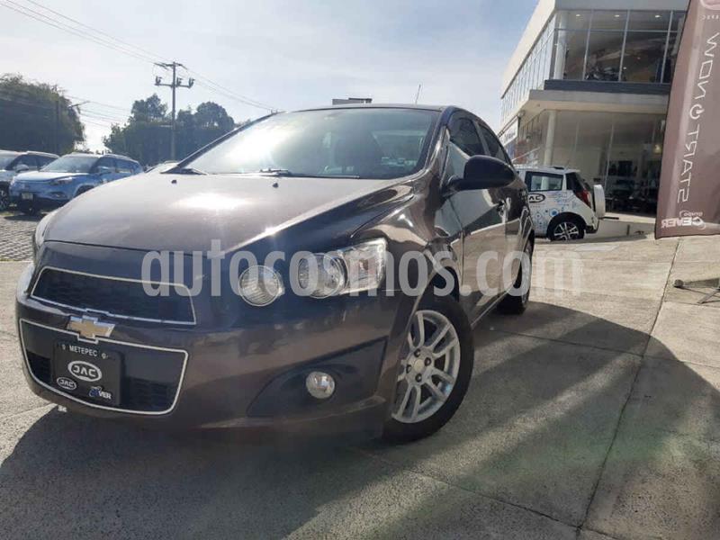 Chevrolet Sonic LTZ Aut usado (2016) color Cafe precio $160,000