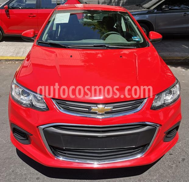 Chevrolet Sonic LT usado (2017) color Rojo Tinto precio $166,000