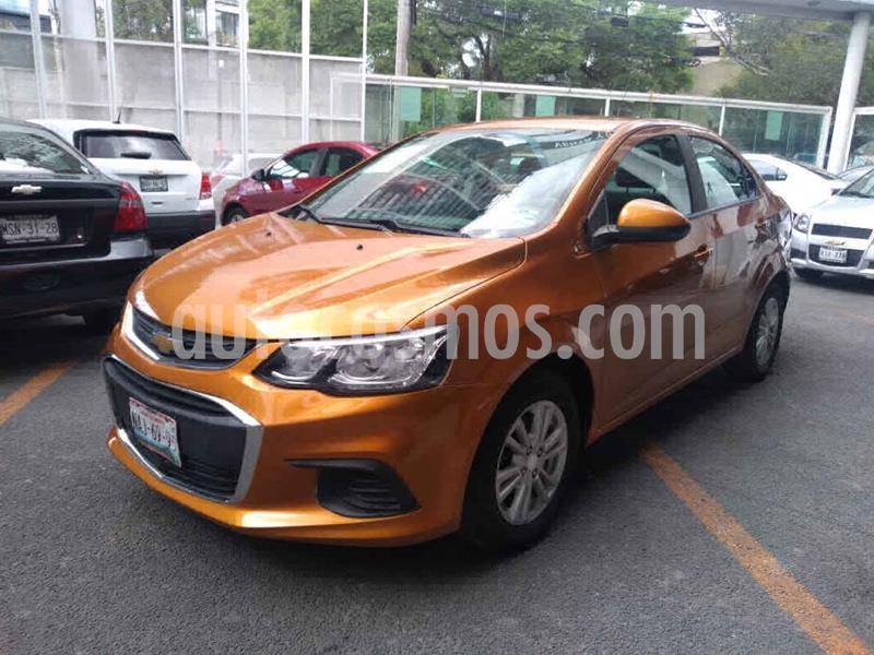 Chevrolet Sonic LT Aut usado (2017) color Naranja precio $159,000