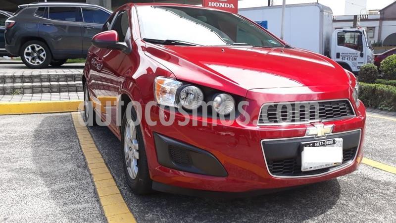 Chevrolet Sonic LT Aut usado (2014) color Rojo precio $135,000