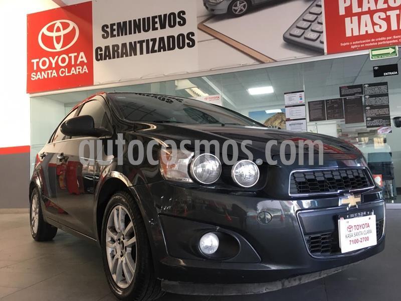 Chevrolet Sonic LTZ Aut usado (2015) color Gris Oscuro precio $143,000
