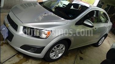 Foto Chevrolet Sonic LT Aut usado (2013) color Plata Brillante precio $110,000