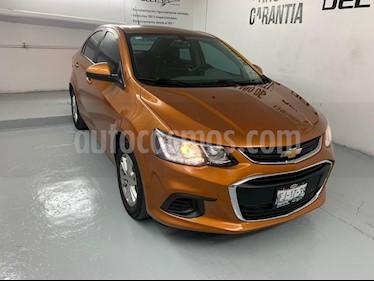 Chevrolet Sonic LT Aut usado (2017) color Naranja precio $165,000