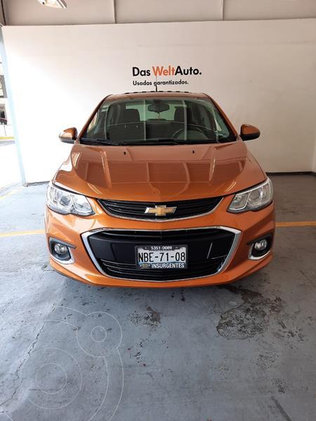 Foto Chevrolet Sonic LS PAQ A 1.6L 115HP CA VT CD MT usado (2017) color Ocre precio $185,000
