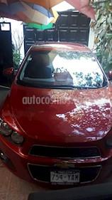 Chevrolet Sonic Paq C usado (2012) color Rojo Granada precio $115,000