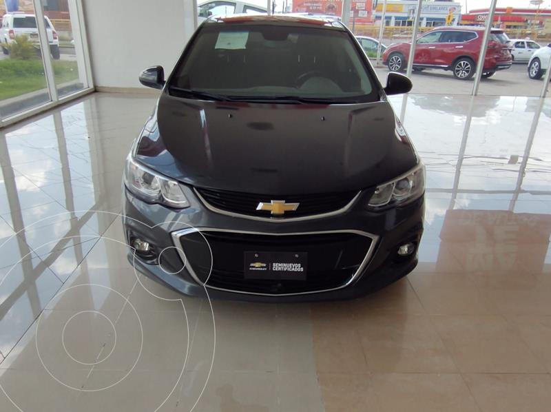 Foto Chevrolet Sonic LTZ Aut usado (2017) color Gris precio $210,000