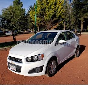 Chevrolet Sonic LT usado (2014) color Blanco Galaxia precio $130,000
