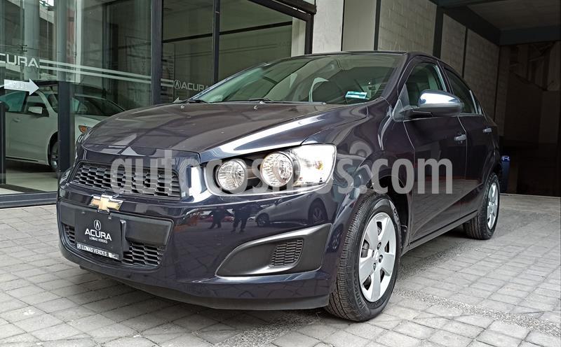 Chevrolet Sonic LS usado (2016) color Azul Oscuro precio $143,000