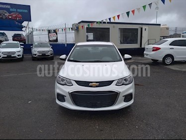 Chevrolet Sonic 4P LT L4/1.6 MAN usado (2017) color Blanco precio $165,000