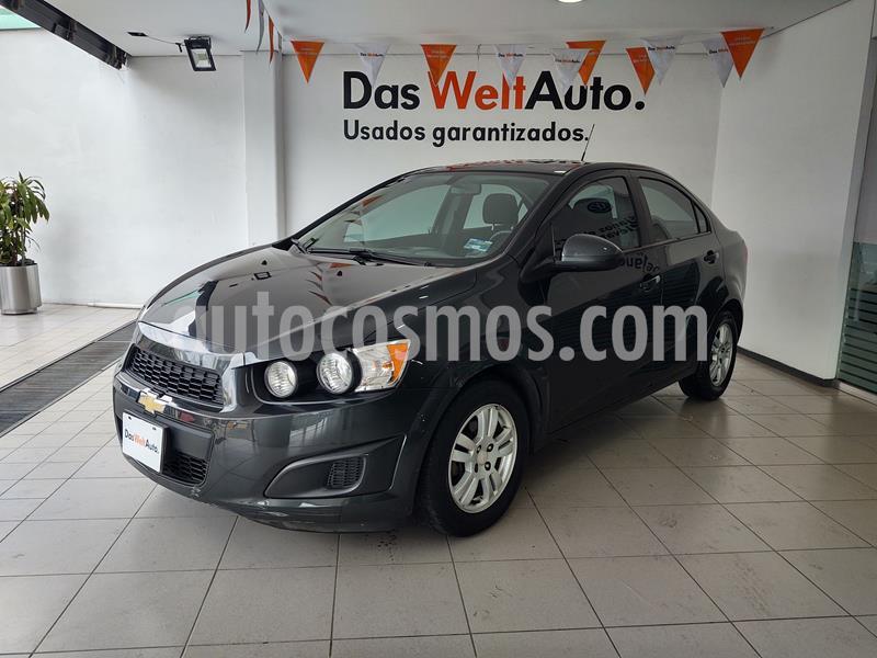 Foto Chevrolet Sonic LT Aut usado (2015) color Gris Ceniza precio $135,000