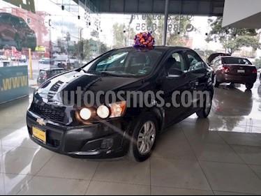 Foto Chevrolet Sonic 4P LT TM5 A/AC. VE BA RA-15 usado (2015) color Negro precio $145,000