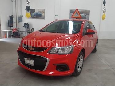 Chevrolet Sonic LS usado (2017) color Rojo Tinto precio $185,000