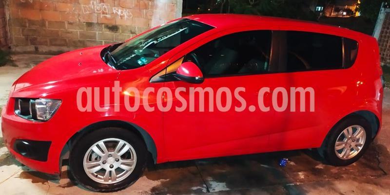Chevrolet Sonic LT HB usado (2016) color Rojo precio $119,000