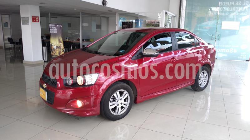 Chevrolet Sonic LT Aut usado (2016) color Rojo precio $165,000