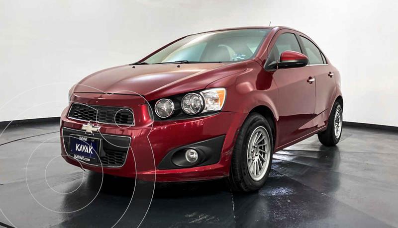 Chevrolet Sonic LTZ Aut usado (2015) color Rojo precio $142,999