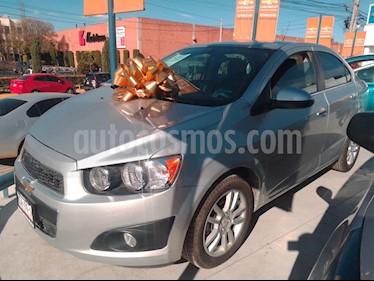 Chevrolet Sonic LTZ Aut usado (2015) color Plata Brillante precio $165,000