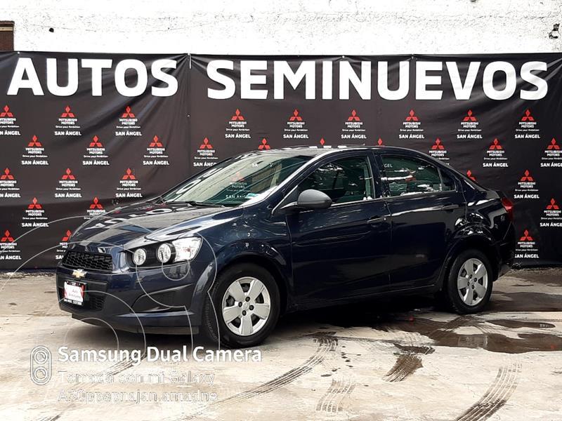 Chevrolet Sonic LS usado (2017) color Azul precio $140,000
