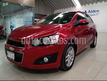 Chevrolet Sonic 4p LTZ L4/1.6 Aut usado (2016) color Rojo precio $169,000